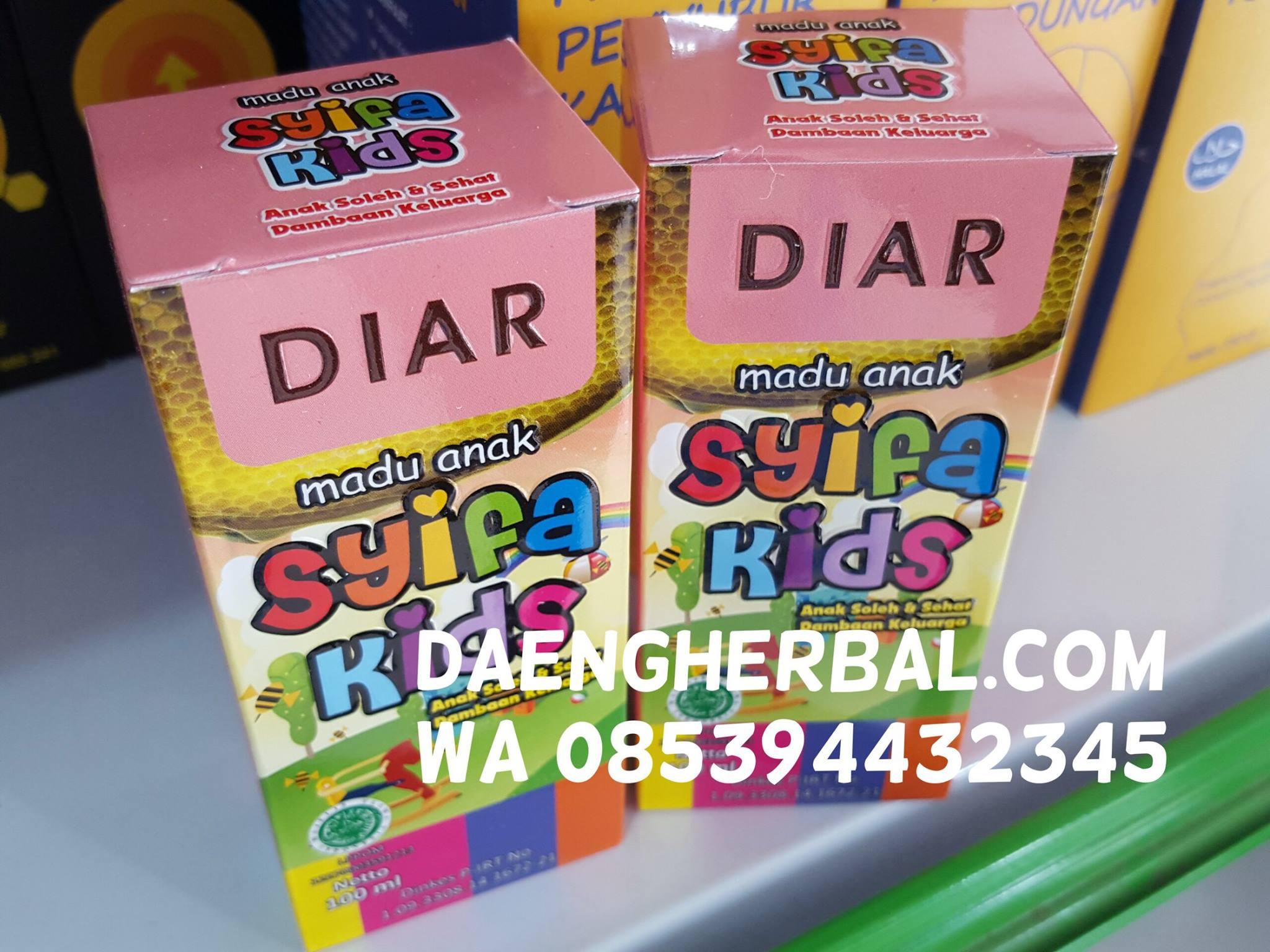Madu Ibu Hamil Daeng Herbal Al Maburoh Anak Syifa Kids Diar